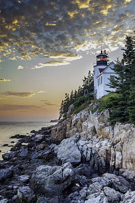 Bass Harbor Light House Poster