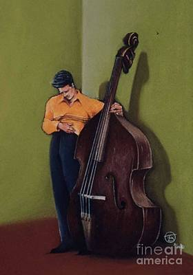 Bass Moods Poster by Troy Brown