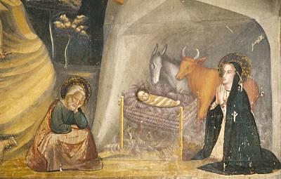 Bassa, Ferrer 1290-1348. Frescoes Poster by Everett