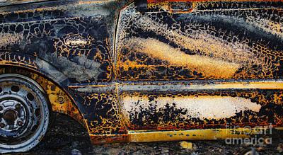 Bastrop Burning Vehicle 1 Poster