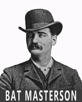 Bat Masterson Lawman Poster
