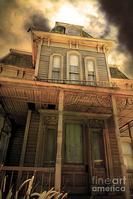 Bates Motel 5d28867 Sepia V1 Poster by Wingsdomain Art and Photography