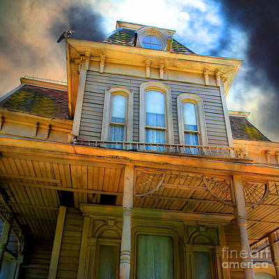 Bates Motel 5d28867 Square Poster by Wingsdomain Art and Photography