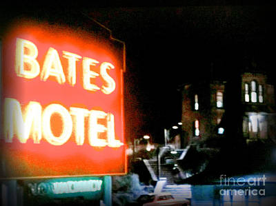 Bates Motel Vacancy Poster