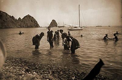 Bathing At Avalon, Santa Catalina Island, Beaches, Wading Poster