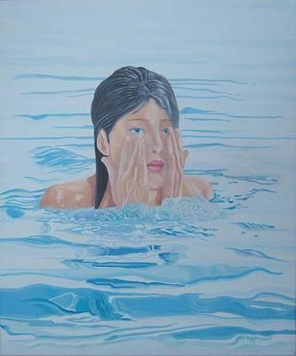 Bathing Belle Poster