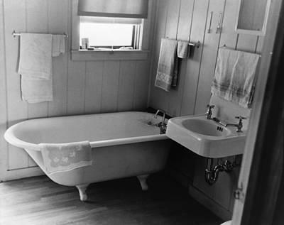 Bathroom, 1938 Poster