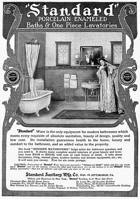 Bathroom Advertisement Poster