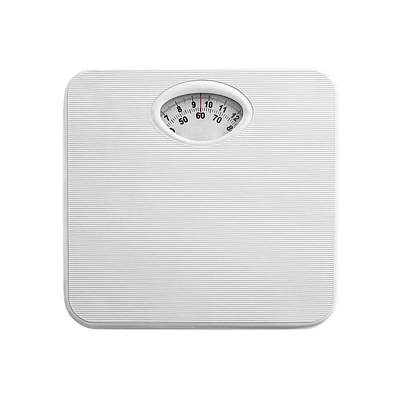 Bathroom Scales Poster by Science Photo Library