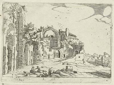 Baths Of Diocletian, Willem Van Nieulandt II Poster