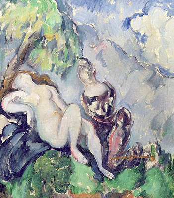 Bathsheba Poster by Paul Cezanne