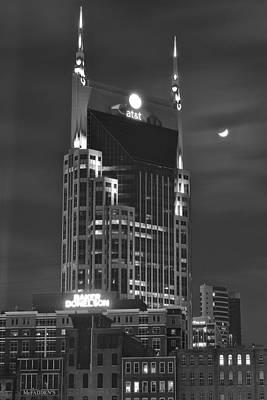 Batman Building Complete With Bat Signal Poster