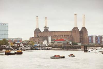 Battersea Power Station Poster by Ashley Cooper