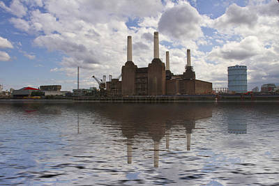 Battersea Power Station London Poster by David French