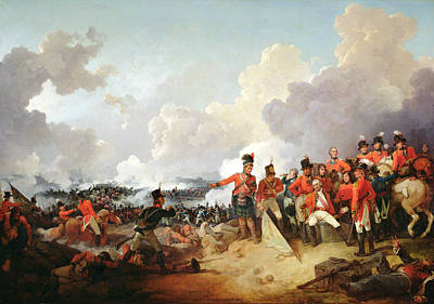 Battle Of Alexandria, 21 March 1801, 1802 Oil On Canvas Poster