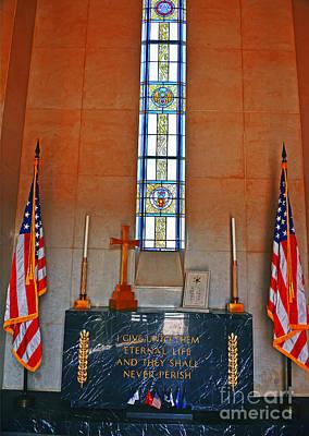 Battle Of Bulge Memorial Poster by Elvis Vaughn