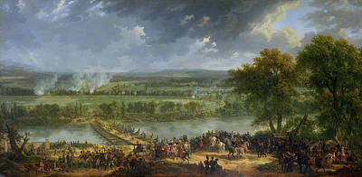 Battle Of Pont Darcole, 15th-17th November 1796, 1803 Oil On Canvas Also See 174337 Poster by Baron Louis Albert Bacler d'Albe
