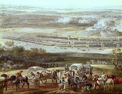 Battle Of Rocoux, 1746, War Poster