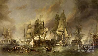 Battle Of Trafalgar Poster by Wonderful Ireland