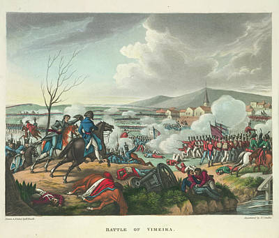 Battle Of Vimeira Poster by British Library