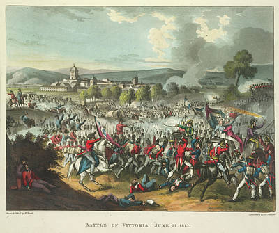 Battle Of Vittoria Poster by British Library