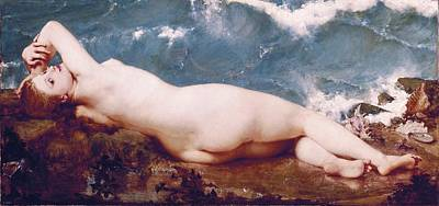 Baudry, Paul 1828-1886. The Pearl Poster by Everett