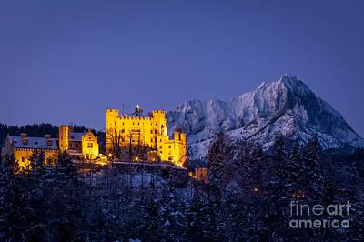 Bavarian Castle Poster
