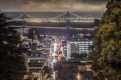 Bay Bridge In San Fransico  Poster by John McGraw