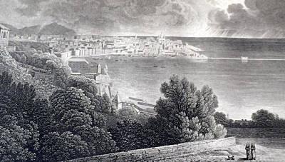 Bay Of Genoa Poster