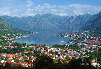 Bay Of Kotor - Montenegro Poster