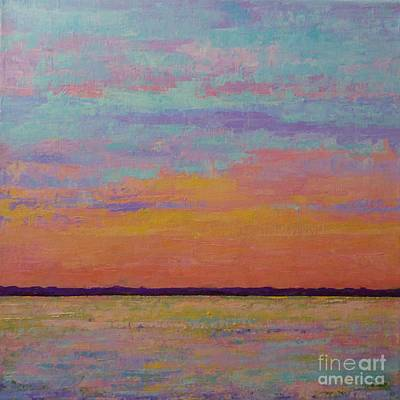 Bay Sunset Poster