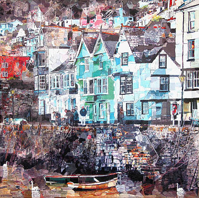 Bayards Cove  Dartmouth Poster by Dawn Scrivener
