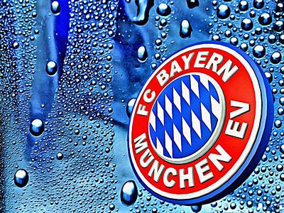 Bayern Football Club Art Poster by Florian Rodarte