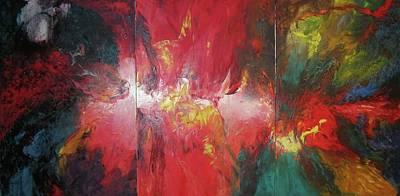 Bayley - Exploding Star Nebuli Poster