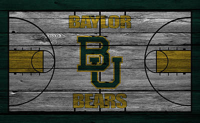 Baylor Bears Poster by Joe Hamilton