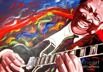 Bb King Poster by Jonathan Tyson