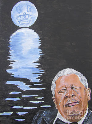 Bb King Painting Poster