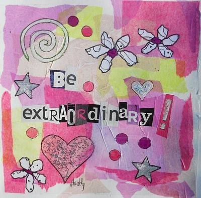 Be Extraordinary Poster