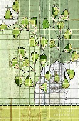 Be-leaf - Green 03-ab202t2 Poster by Variance Collections