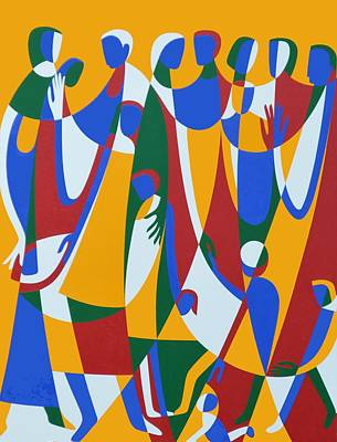 Be Patterns, Be Examples, 1998 Acrylic On Board Poster