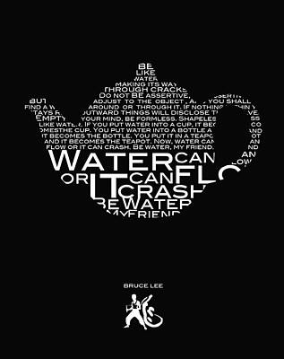 Be Water My Friend  Poster