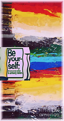 Be Your-self  Poster