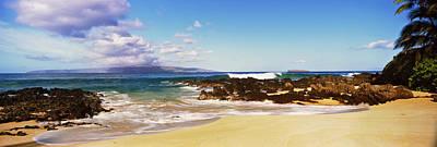 Beach At North Shore, Maui, Hawaii, Usa Poster by Panoramic Images