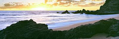Beach At Sunset, Cerritos Beach, Baja Poster by Panoramic Images