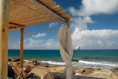 Beach Cabana  Poster by Amy Cicconi