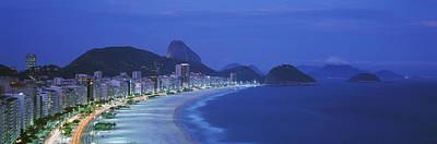 Beach, Copacabana, Rio De Janeiro Poster