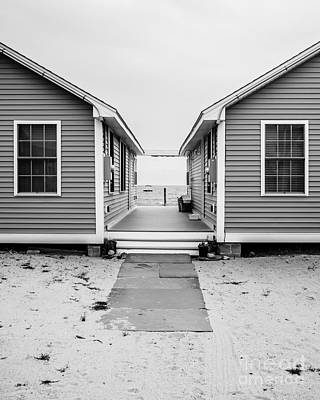 Beach Cottages Poster