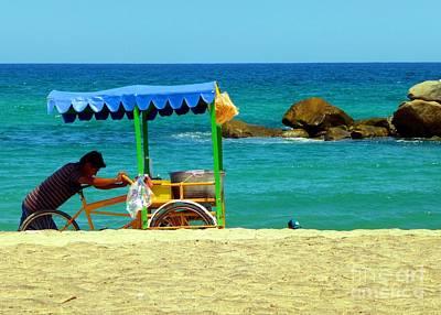 Beach Entrepreneur In San Jose Del Cabo Poster