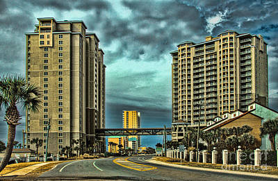 Panama City Beach Front Rd Poster