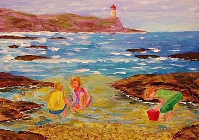 Beach Fun Poster